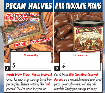 Fresh Pecans & Chocolate Covered Pecans